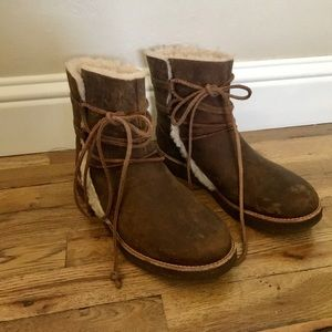 UGG Women's Fur Lined Boots